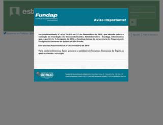 estagio.sp.gov.br screenshot