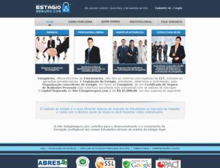estagioseguro.com.br screenshot