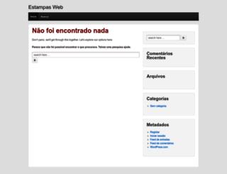estampasweb.wordpress.com screenshot