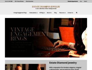 estatediamondjewelry.com screenshot