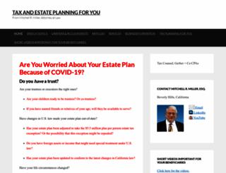 estateplanningforyou.com screenshot