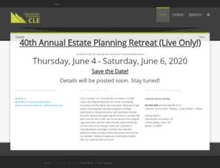 estateplanningretreat.org screenshot