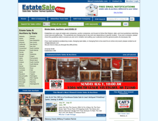 estatesale.net screenshot