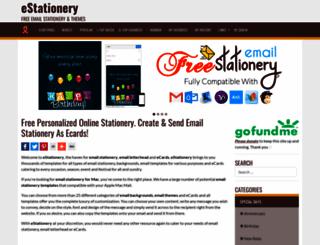estationery.com screenshot