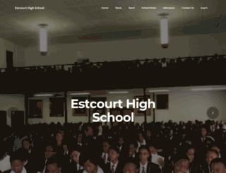 estcourthighschool.co.za screenshot