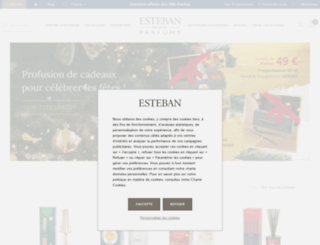 esteban.fr screenshot