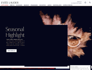 esteelauder.co.uk screenshot