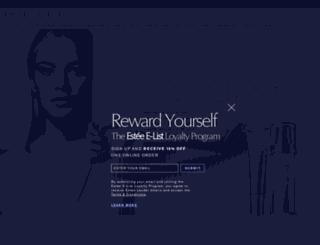 esteelauder.com screenshot