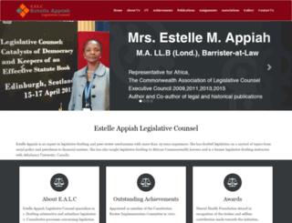 estelleappiah.com screenshot