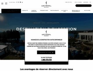 esterel.com screenshot