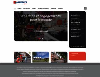 esterra.fr screenshot