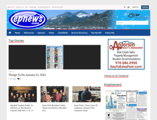 estesparknews.com screenshot