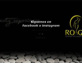 esteticarogem.com screenshot