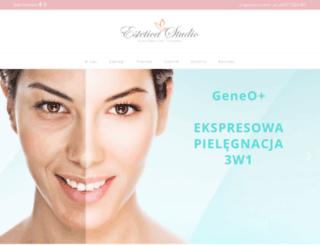 esteticastudio.pl screenshot