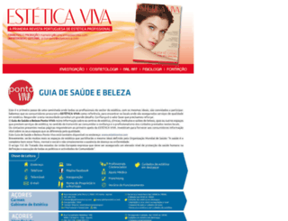 esteticaviva.com screenshot
