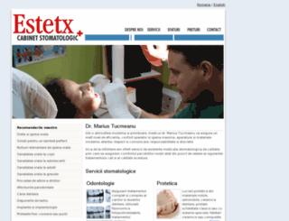 estetx.ro screenshot