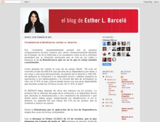 estherlbarcelo.blogspot.com screenshot