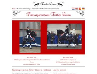 estherliano.nl screenshot