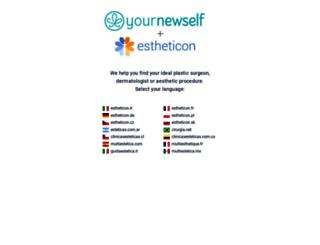 estheticon.es screenshot