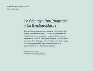 esthetiquechirurgie.com screenshot