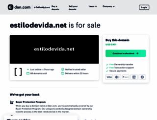estilodevida.net screenshot