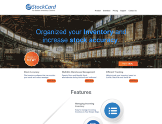 estockcard.com screenshot