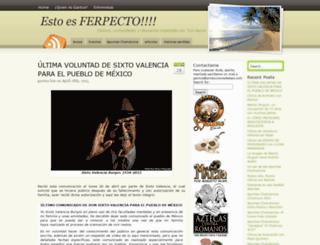 estoesferpecto.produccionesbalazo.com screenshot