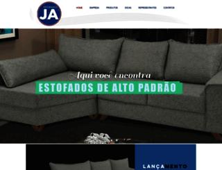 estofadosja.com.br screenshot