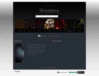 estonica.org screenshot