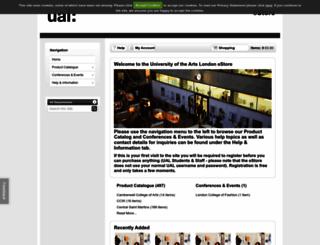 estore.arts.ac.uk screenshot