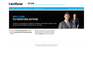 estore.verifone.com screenshot