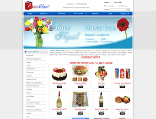 estorenepal.com screenshot