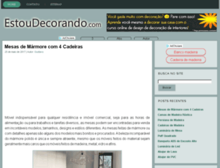estoudecorando.com screenshot