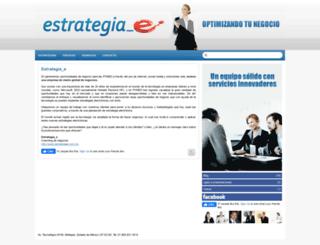 estrategiae.com.mx screenshot