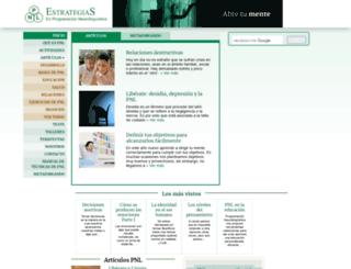 estrategiaspnl.com screenshot