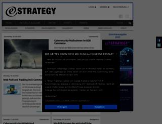 estrategy-magazin.de screenshot