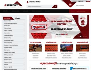 estrechy.cz screenshot