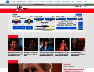 estrelando.com.br screenshot