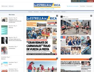 estrellaarica.cl screenshot