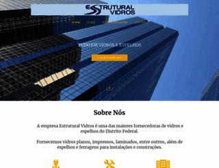 estruturalvidros.com.br screenshot