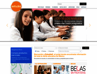 estudia.com.mx screenshot