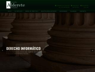 estudioalderete.com screenshot