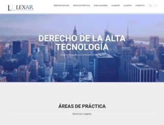 estudiolexar.com screenshot