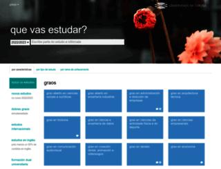 estudos.udc.es screenshot