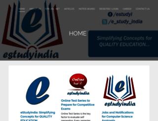 estudyindia.com screenshot