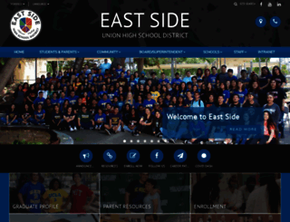 esuhsd.org screenshot