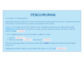 esurat.its.ac.id screenshot