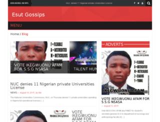esutgossips.com screenshot