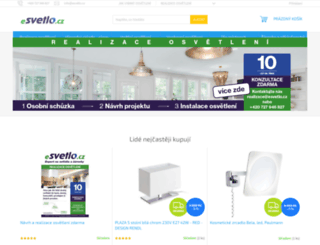 esvetlo.cz screenshot