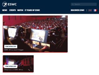 eswc.com screenshot
